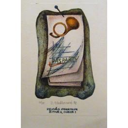 Malá litografie-Pasparty